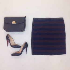 "Club Monaco Dresses & Skirts - Striped ""Isabel"" Knit Pencil Skirt by Club Monaco"