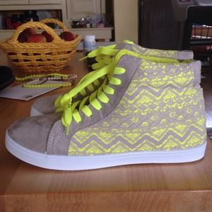Shoes - Neon Sneakers