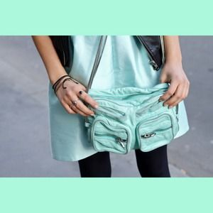 Alexander Wang Brenda Bag mint green