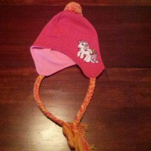 My little pony hat!