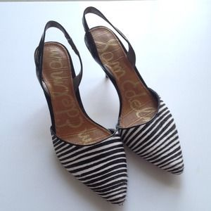 Sam Edelman Shoes - Sam Edelman Striped Slingback. 3