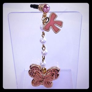 8c376172b70 Accessories - Cute pink butterfly with pretty pearls