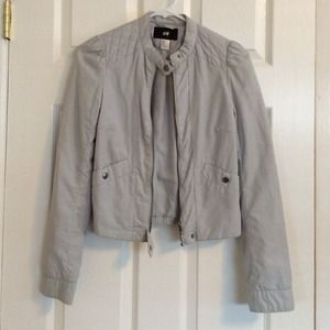 H&M grey jacket