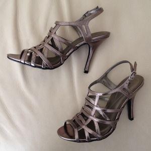 Apt. 9 pewter heels