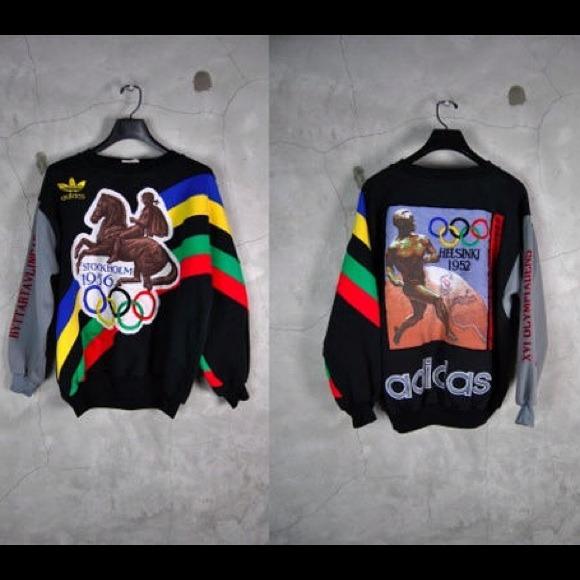 vintage adidas olympic sweatshirt