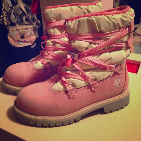 Timberland Snow Boots 650 Pink 5bd0e4fa62
