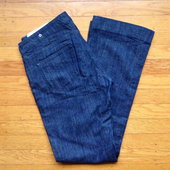 Loomstate Jeans - Organic cotton dark blue jeans