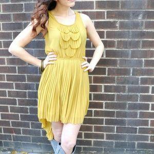 Dresses & Skirts - *Many sizes* Pleated Chiffon High/Low Dress