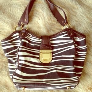 Michael Kors animal print purse