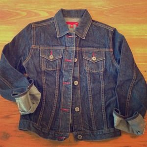 BCBG MaxAzria Jeans Denim Jacket