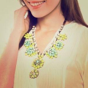 Jewelry - Blue Luxe Bright & Bold Gem Bib