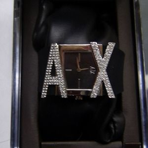 A/X Armani Exchange Handbags - Brand new armani exchange crystal watch