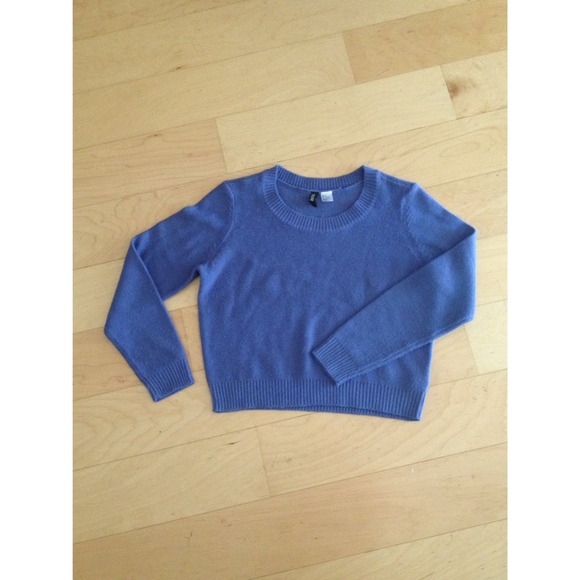 58% off H&M Sweaters - HOST PICK✨4/18 Periwinkle Blue Sweater ...