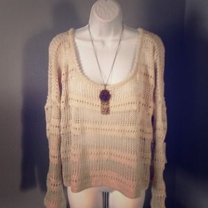 Nwt anthropologie willow & clay boho sweater