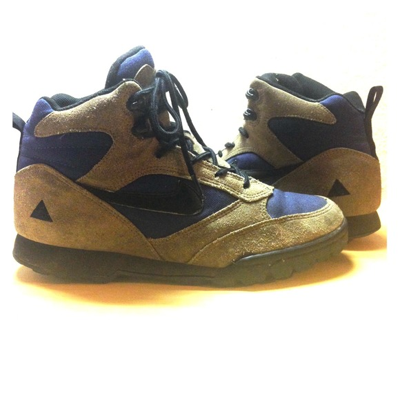 28% off Nike Boots - Vintage nike acg hiking boots from Golden's ...