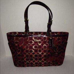 NEW Coach Signature Tote
