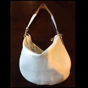 Authentic Gucci off white leather hobo bag
