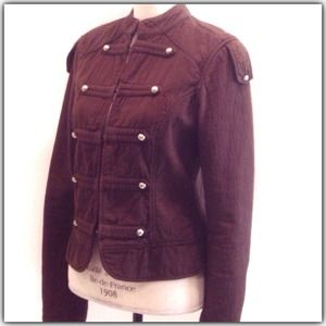 Zara Jackets & Blazers - Zara Brown Military Jacket
