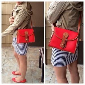 Vintage Red Splendid Cross Body bag