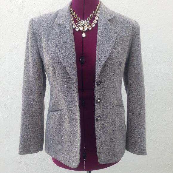 Vintage Jackets & Blazers - ⭐️Vintage gray speckled blazer