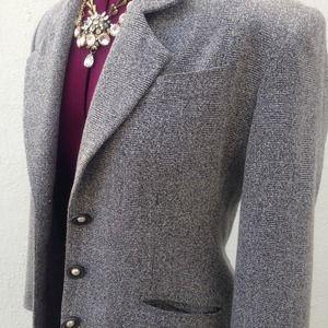Vintage Jackets & Coats - ⭐️Vintage gray speckled blazer