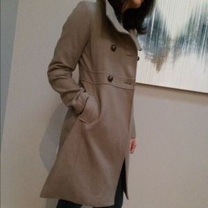 Old Navy Outerwear - Military style wool blend coat