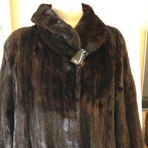 Jackets & Blazers - REDUCED!!!-- Pristine Full Lgth Mink Coat