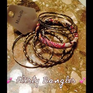 Michelle Jewelry - Bangle Bracelets Set 💕
