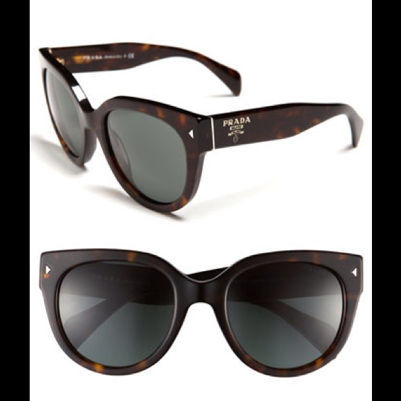 e5fb4fc7906 N.W.T. Prada 54mm Cat Eye Sunglass held till Fri.
