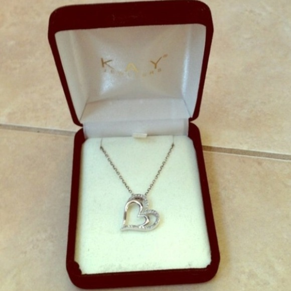 Jewelry Kay Jewelers Heart Necklace Poshmark