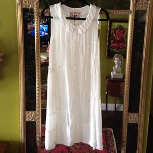 Johnny Was Dresses & Skirts - Johnny Was white dress NWT
