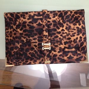 Big Leopard Asos Clutch