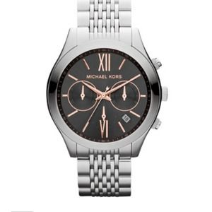 Brand new! Michael kor midsize chronograph watch!