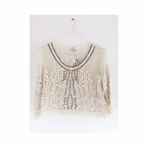 Brand new urban outfitters crochet top