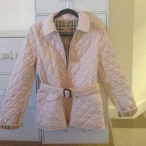 Brand new authentic Burberry quilted coat