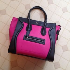 price of celine luggage bag - 100% off celine Clutches & Wallets - This weekend only $250 Pink ...