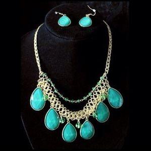 Sea Stone Jewelry Set