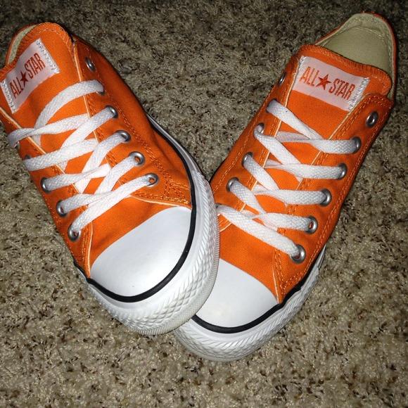 91a7e71cbb8f Converse Shoes - Bright orange converse