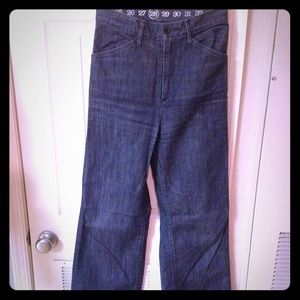 "Adorable high waisted ""earnest sewn"" jeans!"
