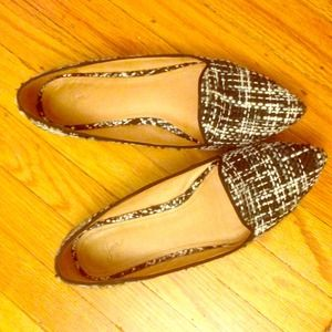 Joie Shoes - Joie Tweed Day Dreaming Flats