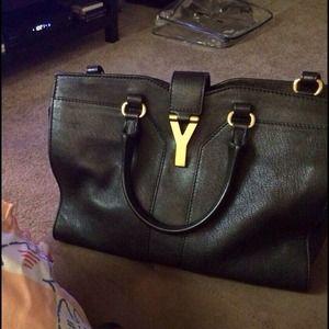 y sl - 29% off CHANEL Handbags - Vintage Chanel Medium Vertical Flap Bag ...