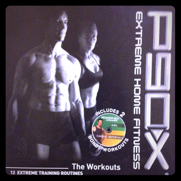 P90X Extreme home fitness (DVDs only)