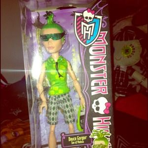 Monster High. Deuce Gorgon -Retired-NWT for sale