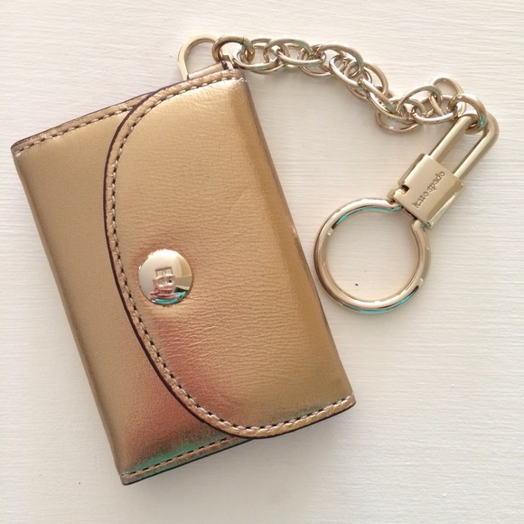 Kate Spade Accessories Authentic Gold Photo Frame Key Fob Poshmark