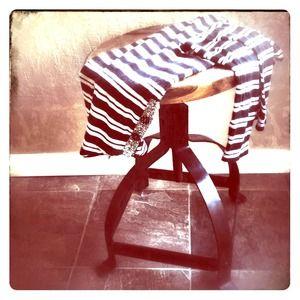 🌻Anthropologie Striped boat neck shirt🌻