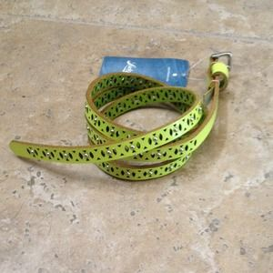 Lucky Brand Accessories - Green Lucky Brand Belt