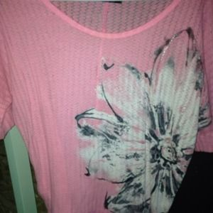 Neon pink cute shirt