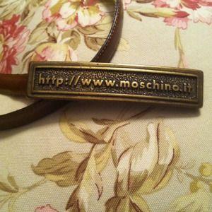 €Hostpick3/15Moschino AuthVintage Rare Belt.Italy