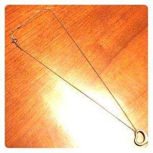 Tiffany & Co Elsa Peretti Open Heart Necklace