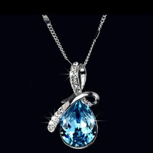 Jewelry - The Most Beautiful Drop Pendant Necklace